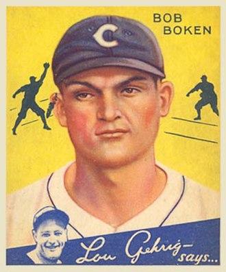 Bob Boken - Image: Bob Boken Goudeycard