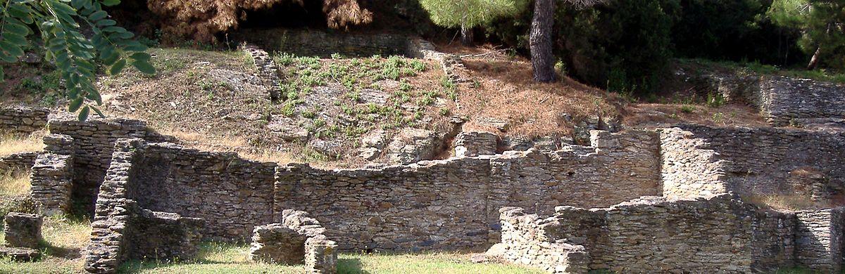 Villa Marittima Romana Triclinium Impianto