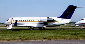 Bombardier Challenger 850 C-GWWW at Manchester 2008.jpg