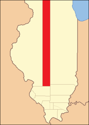 Bond County, Illinois - Image: Bond County 1817