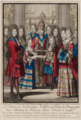 Bonnart - The marriage of the Duke of Burgundy and Marie Adelaïde of Savoy.png