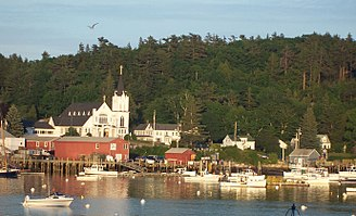 Carousel (musical) - Boothbay Harbor, Maine, where the location shots for Carousels movie version were filmed