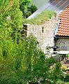 Borchen - Etteln, Westernecke 2, Burgmauern.JPG