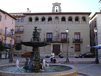 Borja, Zaragoza - Image: Borja Ayuntamiento