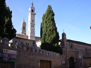 Borja, Zaragoza - The Mudéjar towers of the Collegiate of Santa María