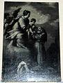Bottega di bernardo strozzi, la madonna presenta il bambino a un santo.JPG