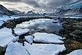 Bottom of mountain snow pond (Unsplash).jpg