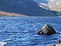 Boulder in Loch Lee - geograph.org.uk - 1541246.jpg