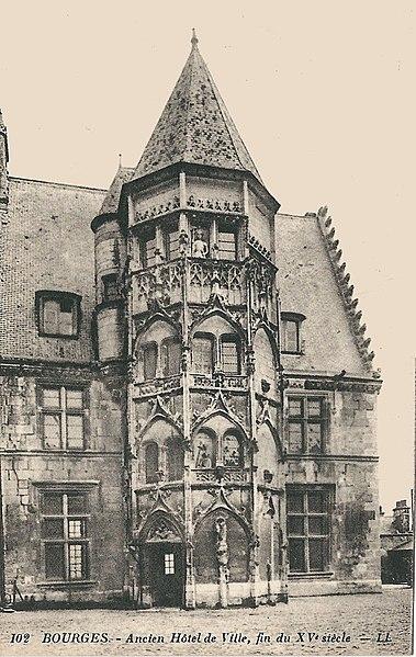 File:Bourges-FR-18-CPA-ancien hôtel de ville-1.jpg