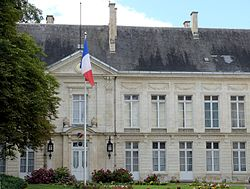 Prefecture building of the Cher department, in Bourges