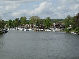 Bourne End, Buckinghamshire - Bourne End Marina on the River Thames