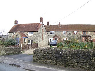 Bow, Oxfordshire - Image: Bow cottages Oxon