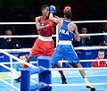 Boxing at the 2016 Summer Olympics, Sotomayor vs Amzile 24.jpg