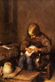 Boy Fleaing his Dog - Gerard Terborch.png