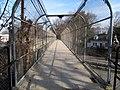 Boylston Street pedestrian bridge interior view, March 2016.JPG