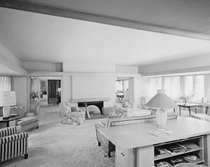 Edward E. Boynton House - Image: Boynton House Living room