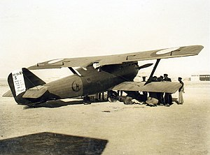 Breguet 19 - Breguet Bre.19 No.3, flown by French aviator Georges Pelletier d'Oisy, at RAF Hinaidi, India en route from Paris to Tokyo in 1924