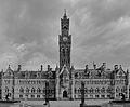 Bradford City Hall in black and white (Taken by Flickr user 10th June 2012).jpg