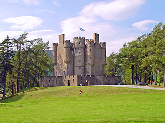 Clan Farquharson - Braemar Castle