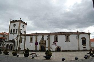 Alto Trás-os-Montes - The Sé in Bragança, ancient medieval cathedral in the Trás-os-Montes