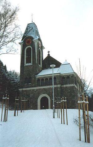 Potůčky - Church