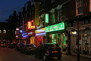 Brick Lane - Curry restaurants in Brick Lane
