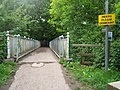 Bridge carrying the North Downs Way over the A217 - geograph.org.uk - 177093.jpg