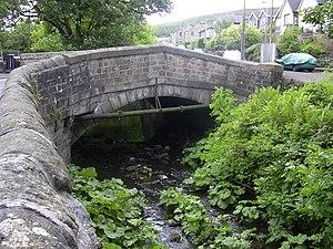 Sabden - Image: Bridge over Sabden Brook geograph.org.uk 1350314