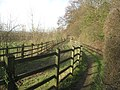 Bridleway and footpath in Capstone Farm Country Park - geograph.org.uk - 2282573.jpg