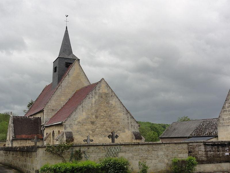 Brie (Aisne) Église Saint Quentin