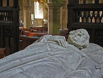 Robert Vernon, 1st Baron Lyveden - Vernon's tomb in Brigstock