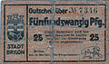 Brilon, Notgeld von 1918, 25 Pfennig.jpg
