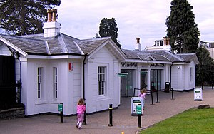 Bristol Zoo - Main entrance