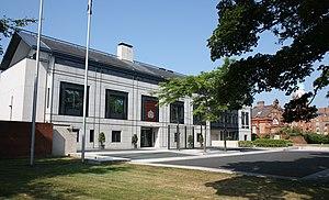 Embassy of the United Kingdom, Dublin - Image: British Embassy, Dublin