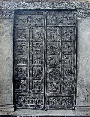Bonanno Pisano - The San Ranieri gate.