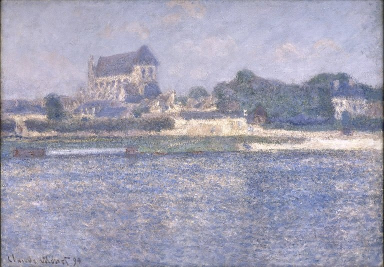 Brooklyn Museum - Church at Vernon - Claude Monet - overall