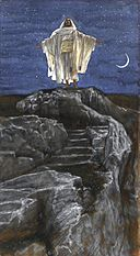Brooklyn Museum - Jesus Goes Up Alone onto a Mountain to Pray (Jésus monte seul sur une montagne pour prier) - James Tissot - overall.jpg