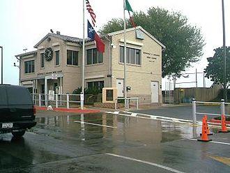 Brownsville & Matamoros International Bridge - Image: Brownsville & Matamoros Bridge office