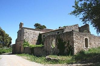 Brue-Auriac - The church of Our Lady, in Brue-Auriac
