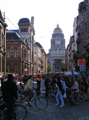 Car-Free Days - Brussels Car Free Day, 2005.