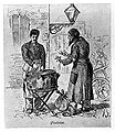 Bucharest, Greek pie-maker, 1880.jpg