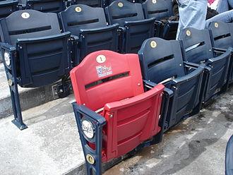 Buck O'Neil - The Buck O'Neil Legacy Seat at Kauffman Stadium