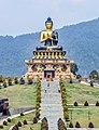 Buddha statue at Buddha Park of Ravangla, Sikkim, India (2).jpg