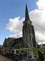 Bulat-Pestivien (22) Église Notre-Dame Tour-clocher 02.JPG