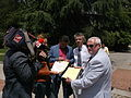 Bulgarian National Television covrer the Hi level meeting of the heads of Principality of Ongal and Principalrty of New Atlantis island in Sofia.jpg