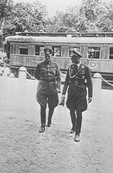 File:Bundesarchiv B 145 Bild-P50287, Compiègne, Waffenstillstandvertrag, Keitel.jpg
