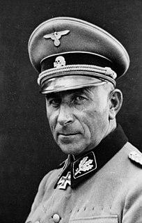 Paul Hausser German SS commander
