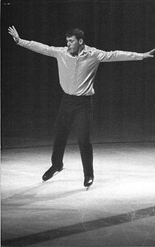 Alain Calmat im Oktober 1963 in Ostberlin