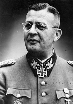 Erich von dem Bach-Zelewski German politician and SS functionary