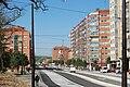 Burgos- Bulevar del Ferrocarril desde el Parque de la Nevera 1 Abril 2011.JPG